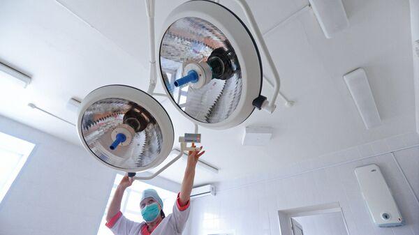 Подготовка оборудования к противошоковой терапии в отделение реанимации