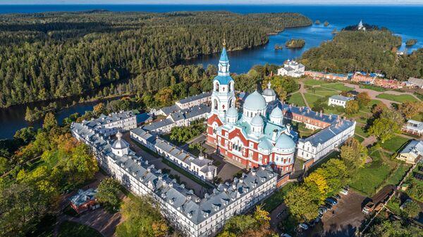 Патриарх Кирилл рассказал о подвиге основателей Валаамского монастыря