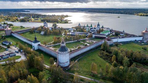 Кирилло-Белозерский монастырь в селе Горицы Вологодской области