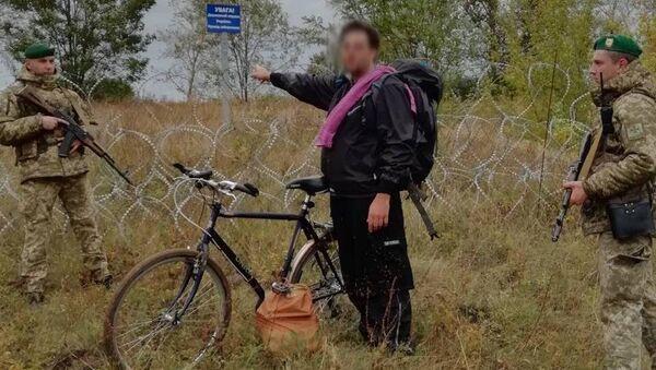 Гражданин США, пытавшийся пересечь российско-украинскую границу на велосипеде вне пункта пропуска