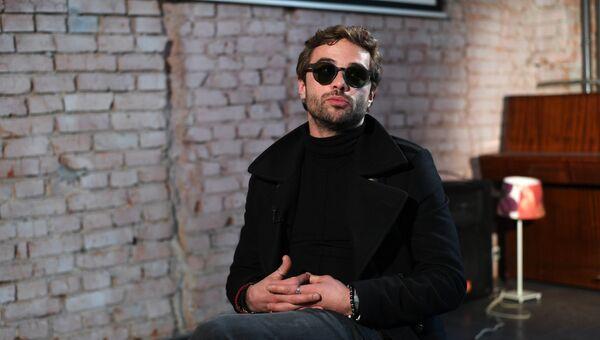 Актер Илья Глинников. Архивное фото