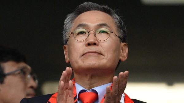 Посол Республики Корея в РФ У Юн Гын