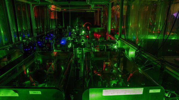 Установка RILIS, на которой ученые ЦЕРН измерили форму атомов ртути