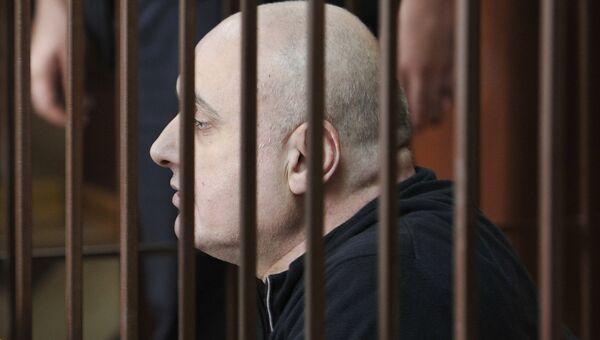 Бывший мэр Махачкалы Муса Мусаев на заседании Советского районного суда Махачкалы. 2 октября 2018