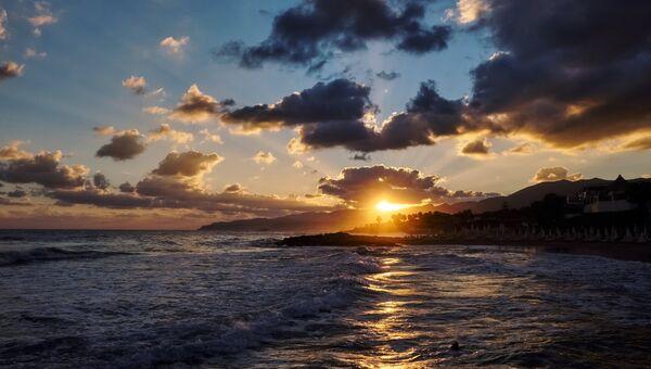 Восход над Средиземноморским побережьем