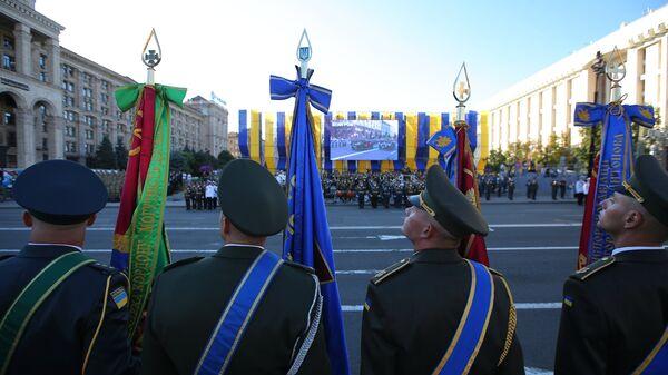 Репетиция военного парада в Киеве