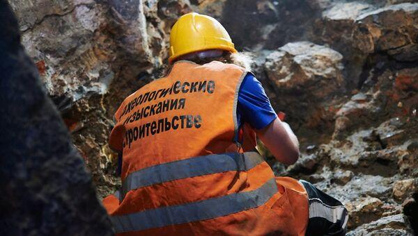 Археологические работы в Москве