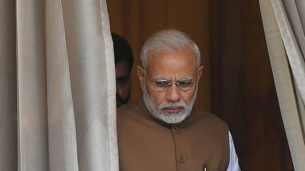Премьер-министр Республики Индии Нарендра Моди