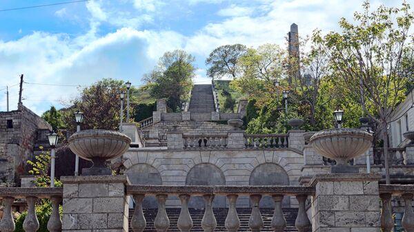 Митридатская лестница в Керчи