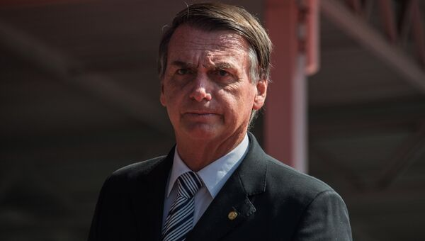 Бразильский политик Жаир Болсонару. Архивное фото