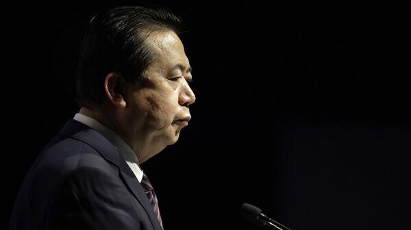 Экс-президент Интерпола Мэн Хунвэй. Архивное фото