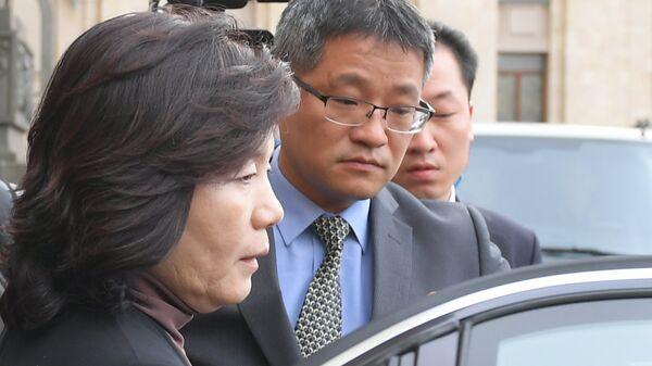 Заместитель министра иностранных дел КНДР Цой Сон Хи