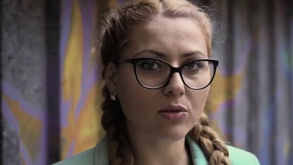 Болгарская журналистка Виктория Маринова