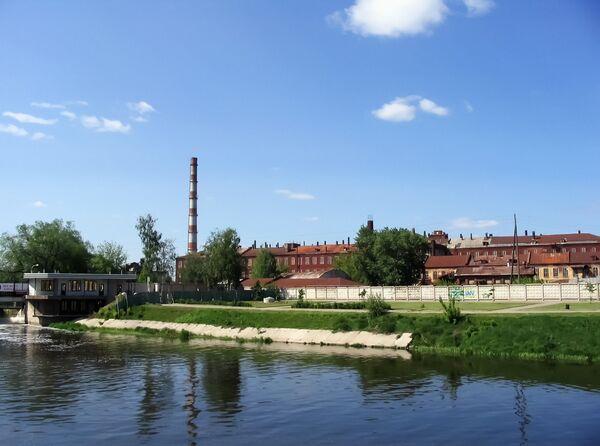Фабрики на реке Уводь, Иваново