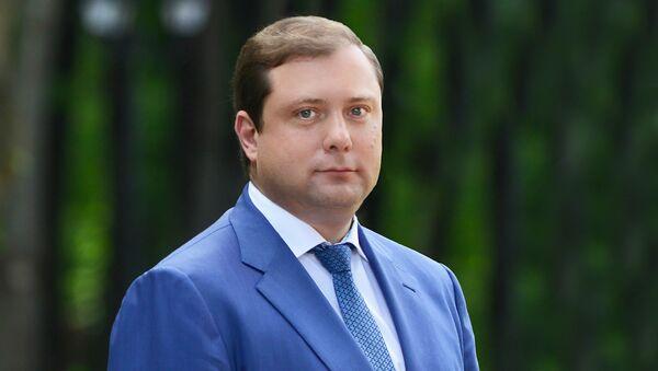Губернатор Смоленской области Алексей Островский. Архивное фото