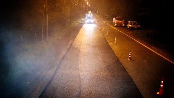 Ремонт Рублевского шоссе