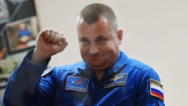 Космонавт Роскосмоса Алексей Овчинин. Архивное фото