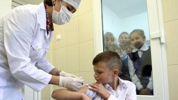 Вакцинация ребенка против гриппа