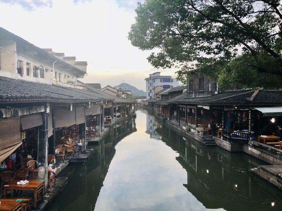 Древний городок Аньчан, Китай