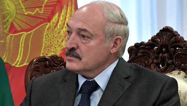 Президент Республики Беларусь Александр Лукашенко. Архивное фото