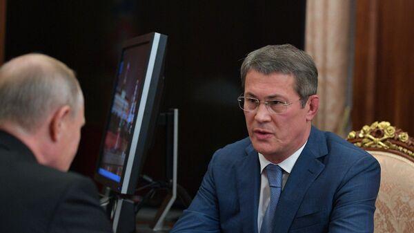 Президент РФ В. Путин назначил врио главы Башкирии Радия Хабирова