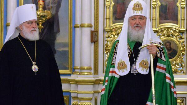 Патриарх Московский и всея Руси Кирилл и митрополит Минский и Заславский, патриарший экзарх всея Беларуси Павел