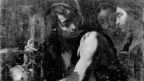 Филиппо Аббиати Милан. Давид с головой Голиафа. 1670 - 1690