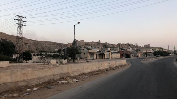 Деревня на окраине Скальбии, Сирия