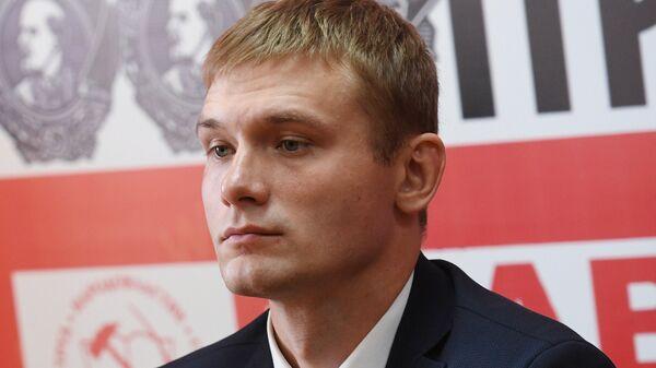 Кандидат от партии КПРФ на пост главы Республики Хакасия Валентин Коновалов. Архивное фото