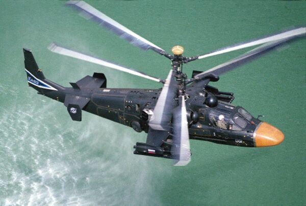 Вертолет Ка-52 Аллигатор. Архив