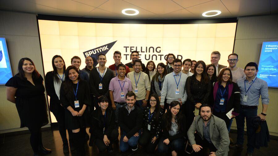 Запуск проекта SputnikPro для молодых журналистов из латиноамериканских стран