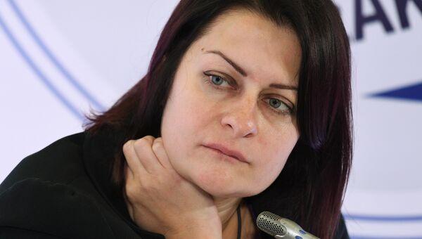 Руководитель экономической редакции РИА Новости Дарья Станиславец