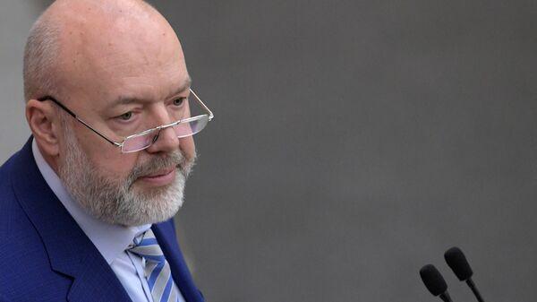 Председатель комитета ГД по государственному строительству и законодательству Павел Крашенинников