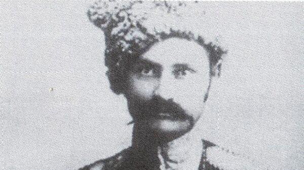 Военфельдшер 3-го линейного полка Кубанского казачьего войска вольноопределяющийся И.Л. Сорокин. 1914 год