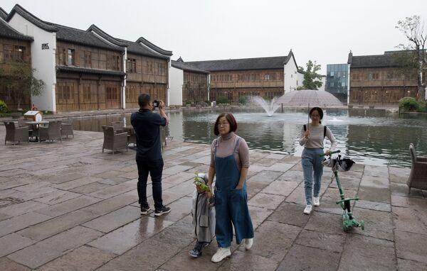 Инновационный поселок Город мечты в городе Ханчжоу в КНР