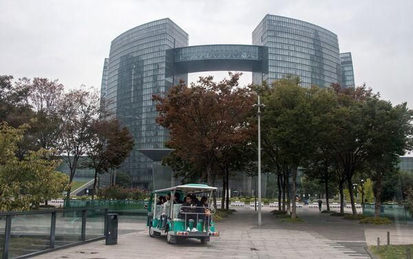 Офисный центр в городе Ханчжоу в КНР