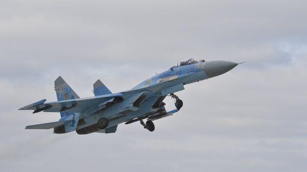 Украинский истребитель Су-27