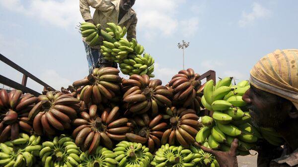 Овощной рынок в Ченнаи, Индия