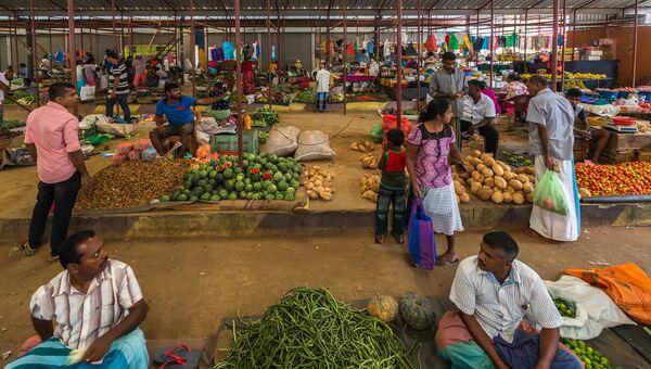 Рынок в Южной Азии