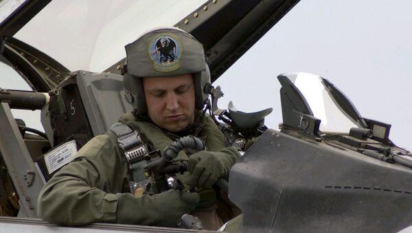Американский пилот Сет Неринг. Архивное фото