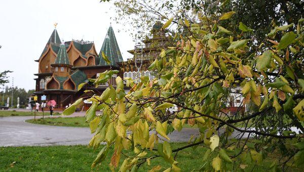 Осень в Москве. Архивное фото