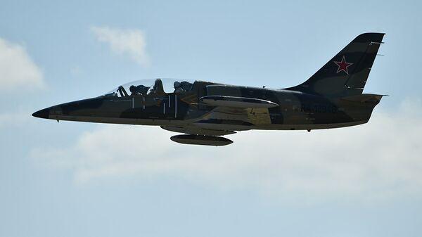 Учебно-боевой самолет Л-39. Архивное фото