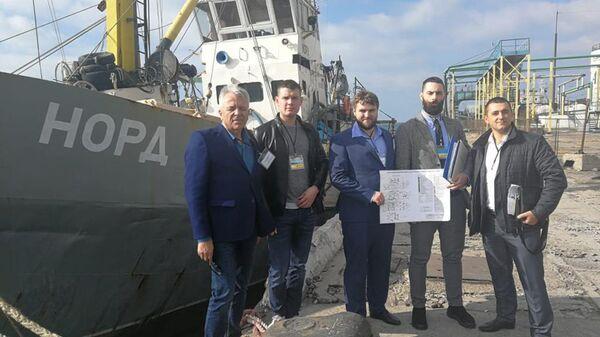 Украинская прокуратура передала российское судно Норд Национальному агентству Украины