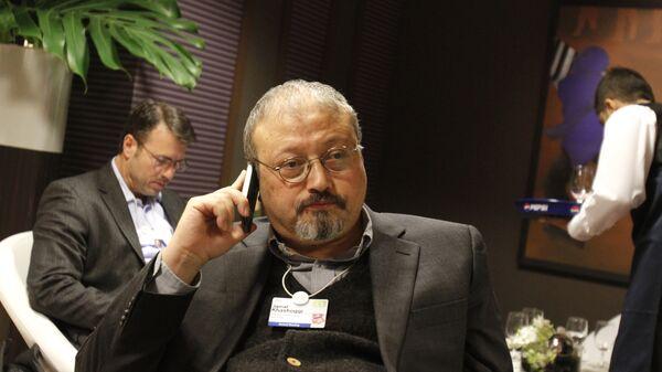 Саудовский журналист Джамаль Хашукджи