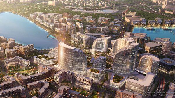 Проект умного города в Рублево-Архангельском от Nikken Sekkei