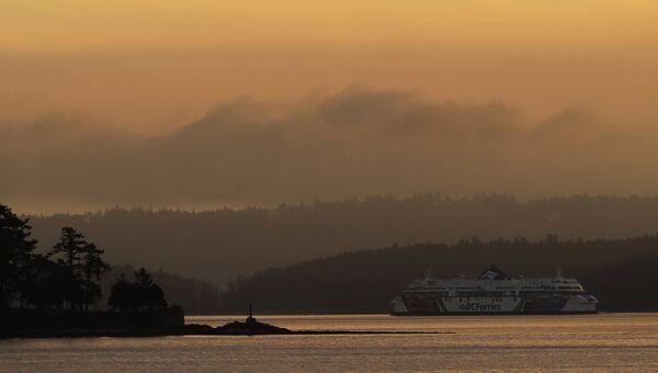 Остров Ванкувер на западном побережье Канады в провинции Британская Колумбия. Архивное фото