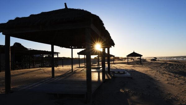 Пляж в Тунисе. Архивное фото