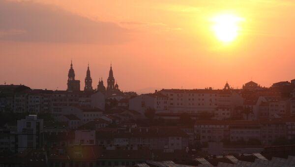 Сантьяго-де-Компостела - конченый пункт путешествия. Архивное фото