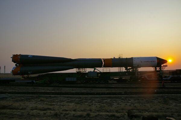 Подготовка с запуску грузового ЦСКБ - Прогресс победил в конкурсе на создание новой ракеты-носителякорабля
