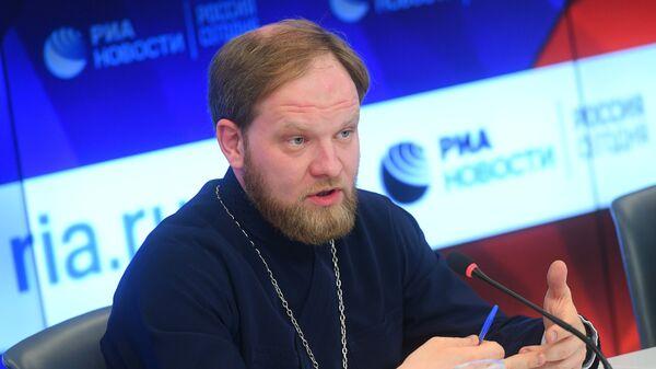 Руководитель пресс-службы Патриарха Московского и всея Руси, священник Александр Волков